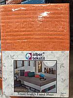Турецкая простынь на резинке размер 160/200 , фото 1