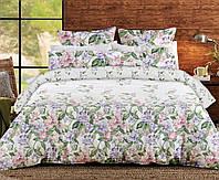Постельное белье, евро  комплект, хлопковое постельное белье, ткань  Ранфорс, Прованс