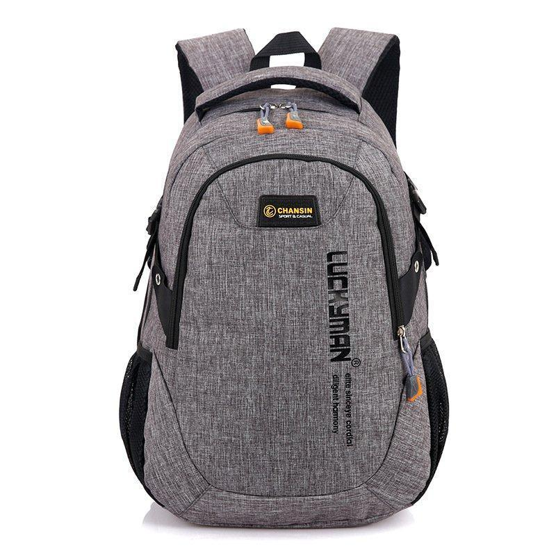 Рюкзак городской Luckyman gray