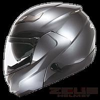 Мотошолом Zeus ZS-3100 Сірий глянець, фото 1