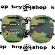 Чохол (комуфляж, силіконовий) для авто ключа Toyota (Тойота) 2 кнопки