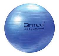 Гимнастический мяч ABS GYM BALL 75 см цвет синий Qmed КМ-16