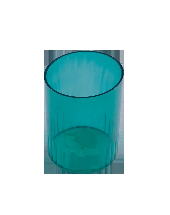 Стакан пластиковый для ручек, зеленый Арника