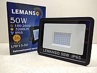 Светодиодный прожектор Lemanso 50W, 3200LM, IP65, LMP15-50, фото 1