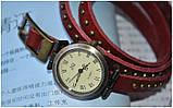 Винтажные часы браслет JQ retro red, фото 4