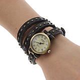Вінтажні годинник браслет JQ retro green, фото 3