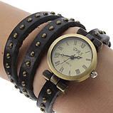Вінтажні годинник браслет JQ retro green, фото 4