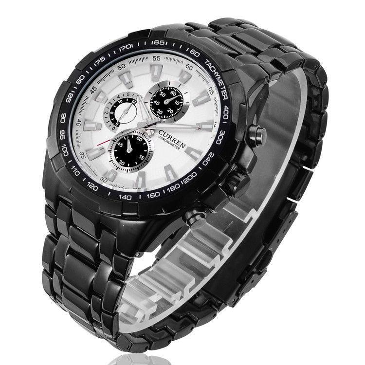 Часы мужские Сurren Granit  black-white