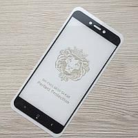 Защитное черное стекло 2.5D Full Glue Xiaomi Redmi 4a