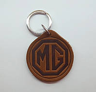 Кожаный брелок / Марки авто / MG, фото 1