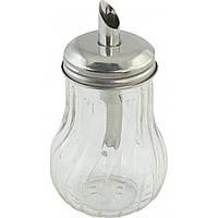 Сахарница с дозатором 280мл стекло, фото 1