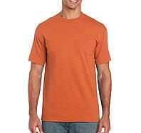 Футболкa оранжевая плотная Heavy Cotton, Gildan, Канада 100% коттон, плотность 180 г/м2