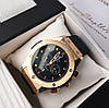 Мужские золотые часы Hublot Geneve Хублот, чоловічий золотий годинник, фото 6