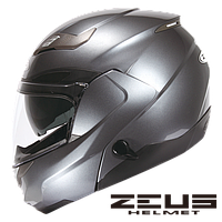Мотошлем Zeus ZS-3100 Серый глянец L