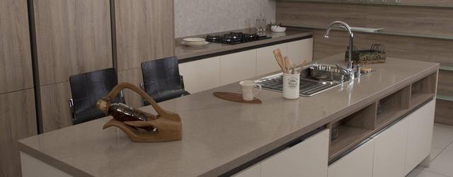 Кухонная столешница из искусственного камня - кварца 3333 Boletus