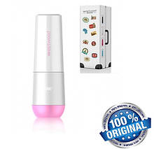 Travel чашка для зубной пасты и щетки Westwood, бело-розовая