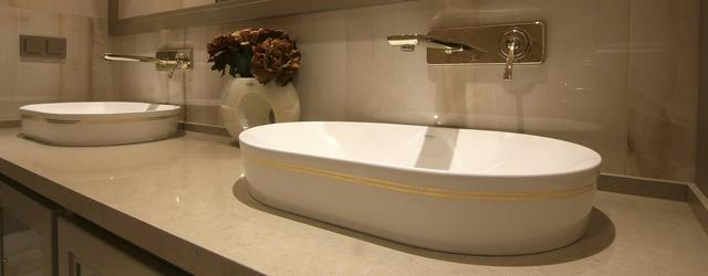 Фото - Столешница в ванную из искусственного камня Belenco 3333 Boletus