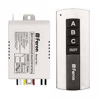 Дистанционный выключатель Feron ТМ76 / 3 канала / до 1000W