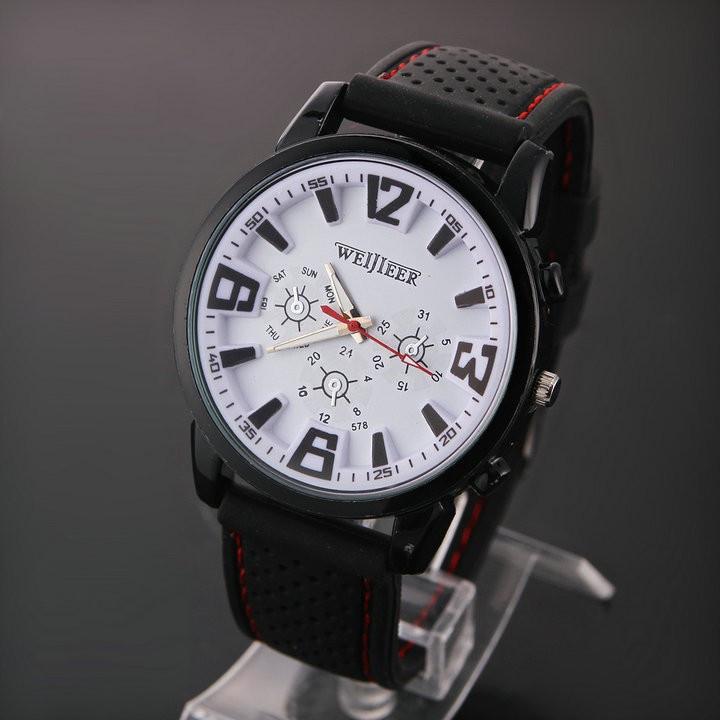 Часы мужские наручные Pilot AVIATOR white