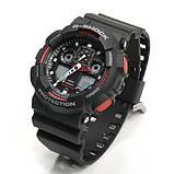 Часы мужские Casio G-Shock black-red, фото 2