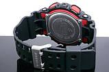 Часы мужские Casio G-Shock black-red, фото 3