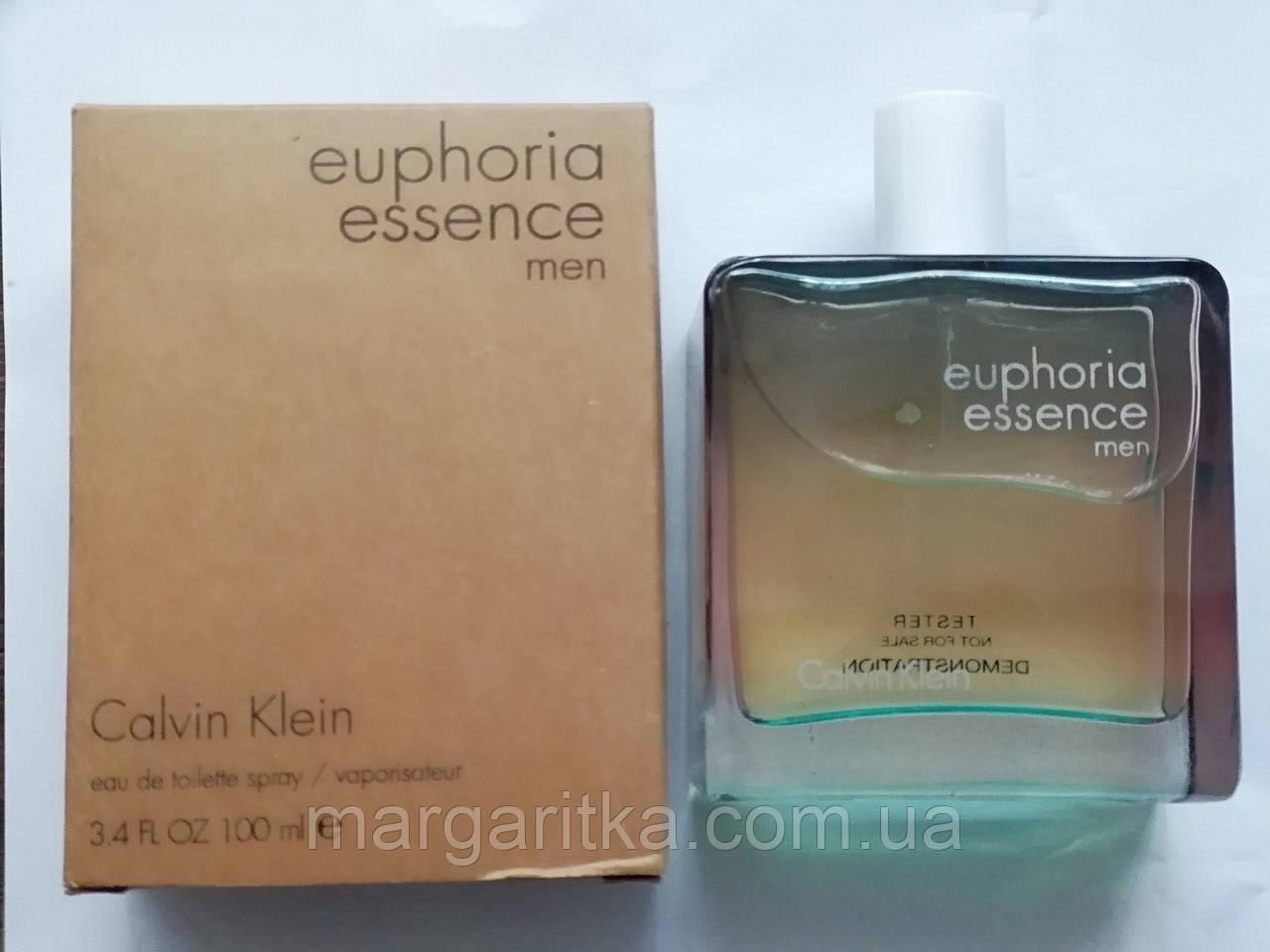 Парфюмированная вода Calvin Klein Euphoria Essence Men EDT TESTER LUX мужской Копия