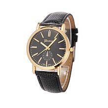 Часы Geneva Boston black-gold-black