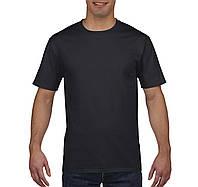 Футболкa черная  плотная Premium Cotton, Gildan, Канада 100% коттон, плотность 185 г/м2