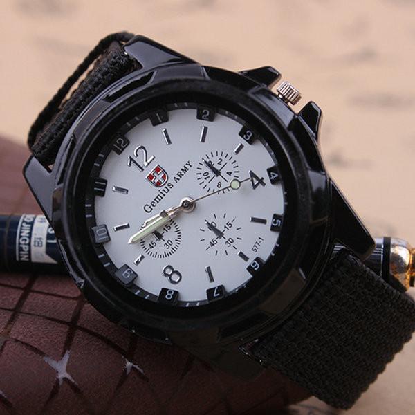 Часы мужские наручные Gemius Army black-white