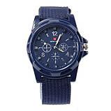 Чоловічі годинники Swiss Army blue, фото 2