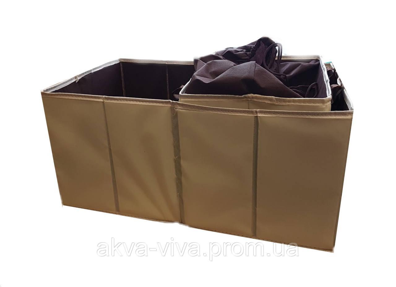 Термобокс и органайзер для багажника авто (комплект 2 шт) АО-1007-5