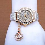 Часы женские KimSong white, фото 3