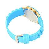 Женские наручные силиконовые часы Geneva mint, фото 3
