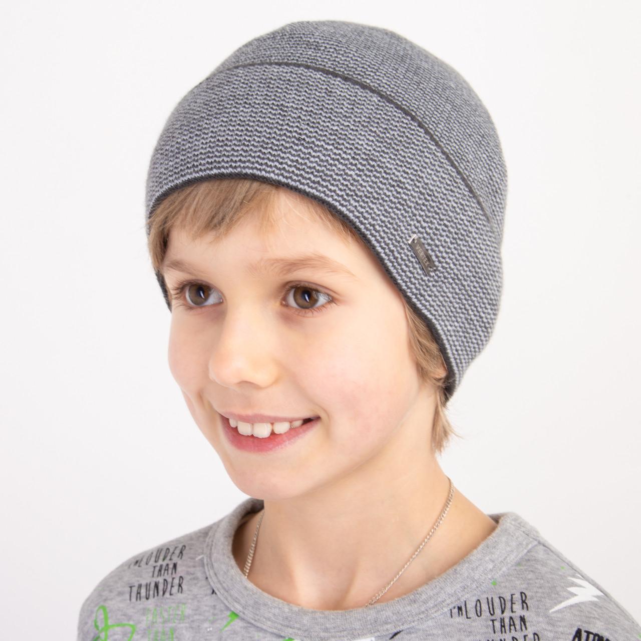 Зимняя шапка для мальчика оптом - Артикул 2154