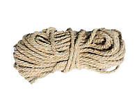 Веревка для сушки белья 50 м Пеньковая (01925)