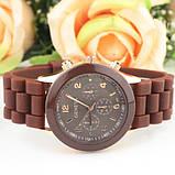Жіночі наручні силіконові годинник Geneva brown, фото 4