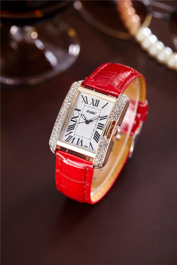 Часы женские наручные  Angel red