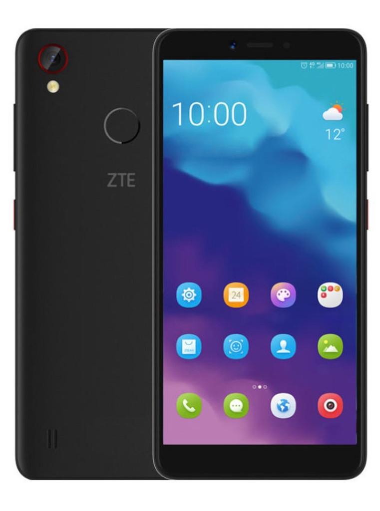 "Смартфон ZTE Blade A4 Black 4/64Gb, 12/5Мп, 5.45"" IPS, 3200mAh, 2SIM, 4G, Snapdragon 435, 8 ядер"