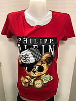 Женская футболка PP Турция р. S.M.L.XL оптом