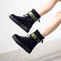Ботинки замшевые Puma x Fenty By Rihanna Scuba  размер 39 черные 08158, фото 1