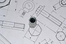 Оцинкованная соединительная гайка М5 DIN 6334