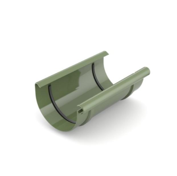 З'єднання ринви BRYZA 125мм, Зелений RAL 6020