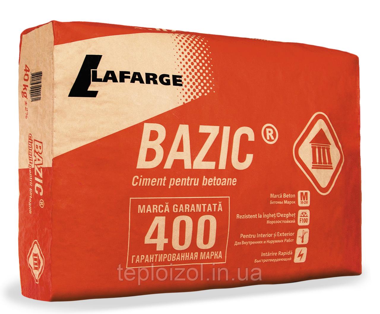 Цемент Lafarge ПЦ-400, 25 кг (Молдова)