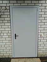Двері металеві однопільні