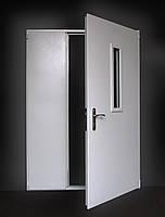 Двери металлические двупольные