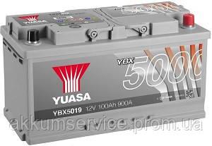 Аккумулятор автомобильный Yuasa Silver HP 100AH R+ 900А YBX5019
