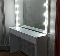 Зеркало и стол в гримерку