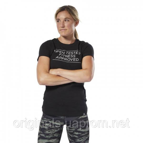 Женская футболка Reebok CrossFit Open Tested DY0488