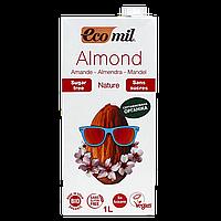 """Молоко """"Ecomil"""" растительное из МИНДАЛЯ без сахара органическое 1л (1ящ/6шт)"""