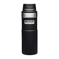 Термокружка Stanley Classic Trigger action 0.47 л BLACK (06439-006), фото 1